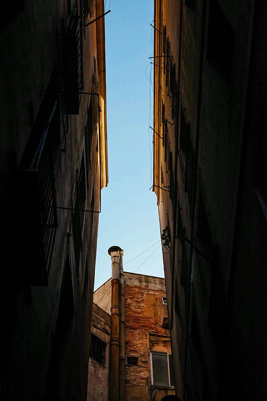 Les rues de Barrio Gótico
