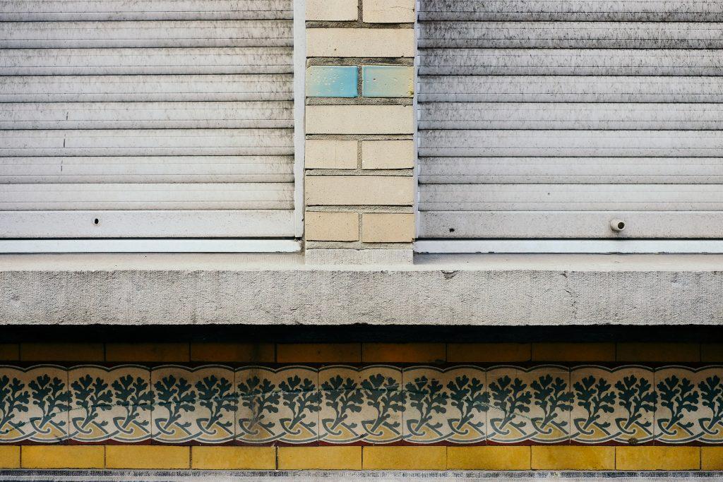 Bruxelles façade details